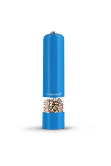 Baterijski LED mlinček za poper Esp Labaro - moder