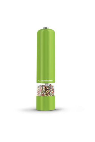 Baterijski LED mlinček za poper/sol Esp Labaro - zelen