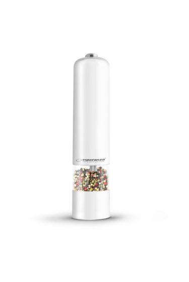 Baterijski LED mlinček za poper/sol Esp Labaro - bel