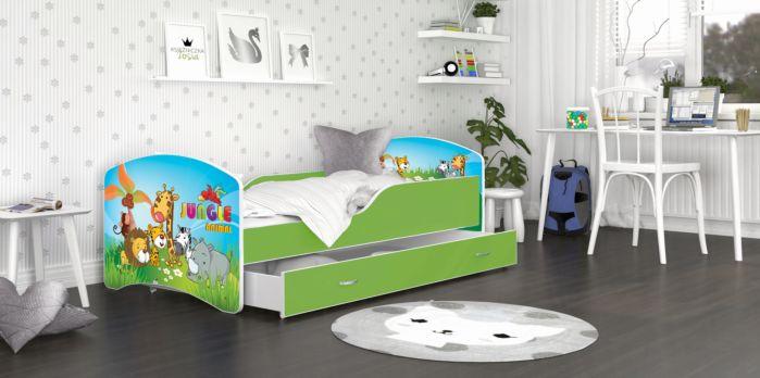 Otroška postelja IRIS 140/160/180 x 80cm