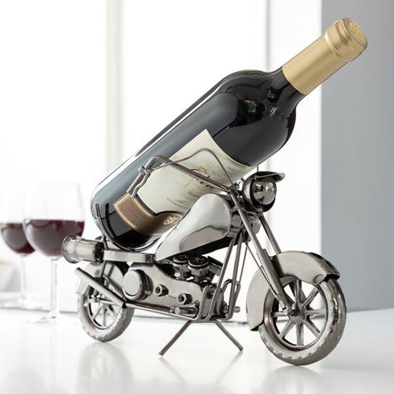 Kovinsko Stojalo za Steklenice Motor