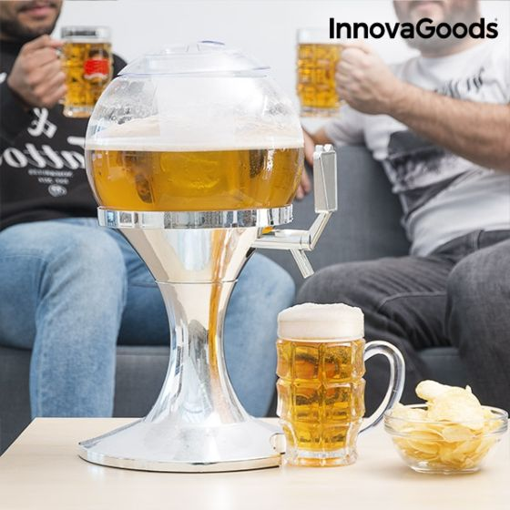 Hladilna posoda za pivo in druge pijače Krogla