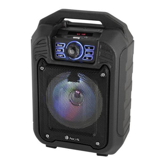 Zvočnik Bluetooth Prenosni NGS ROLLERTIN