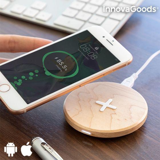 Lesen brezžični polnilec za telefon - javor