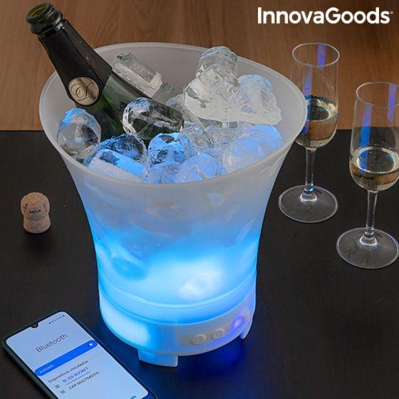 LED vedro za led z zvočnikom na ponovno polnjenje SONIC