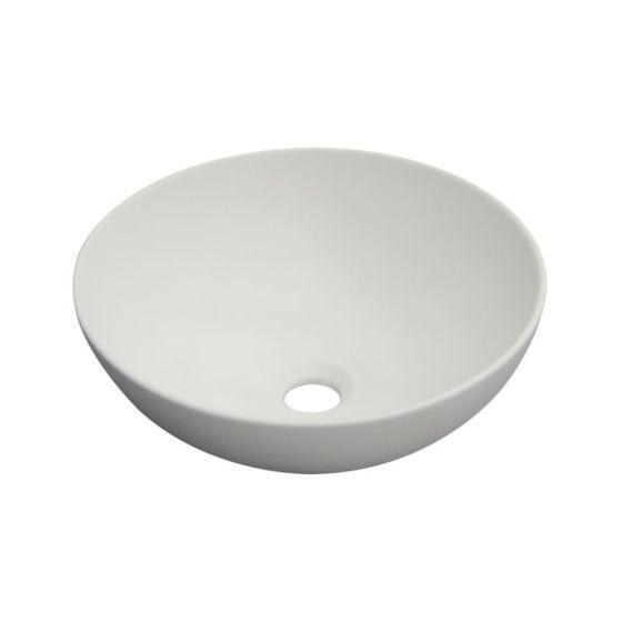 Kopalniški umivalnik Alvito DOKOS 40 cm - bela mat