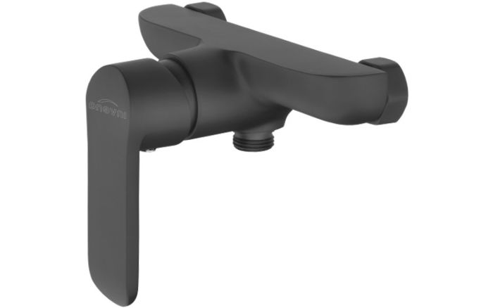 Enoročna tuš armatura Alvito Siros Shower Black