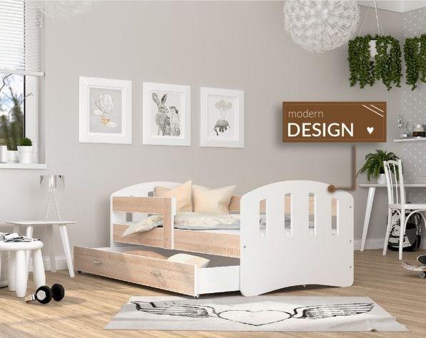 Otroška postelja Srečko 140/160/180 x 80 cm ali 180 x 90 cm