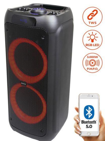 Manta prenosni karaoke zvočni sistem SPK5310, vgrajena baterija, Bluetoth/USB/MP3/RADIO FM