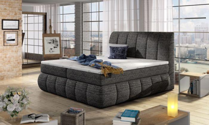 Vineta 02 - 160/180x200  oblazinjena postelja