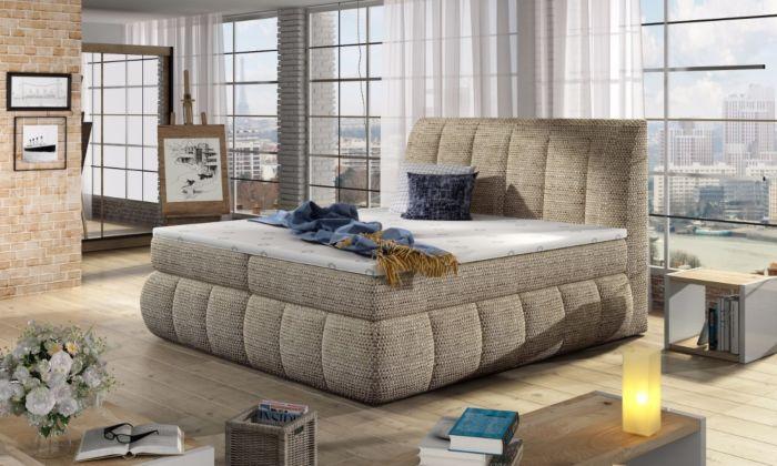 Vineta 03 - 160/180x200  oblazinjena postelja