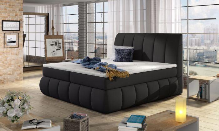Vineta 05 - 160/180x200  oblazinjena postelja