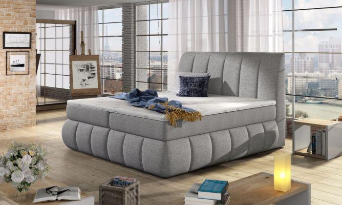 Vineta 06 - 160/180x200  oblazinjena postelja