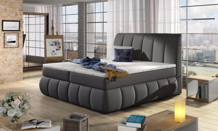 Vineta 10 - 160/180x200  oblazinjena postelja