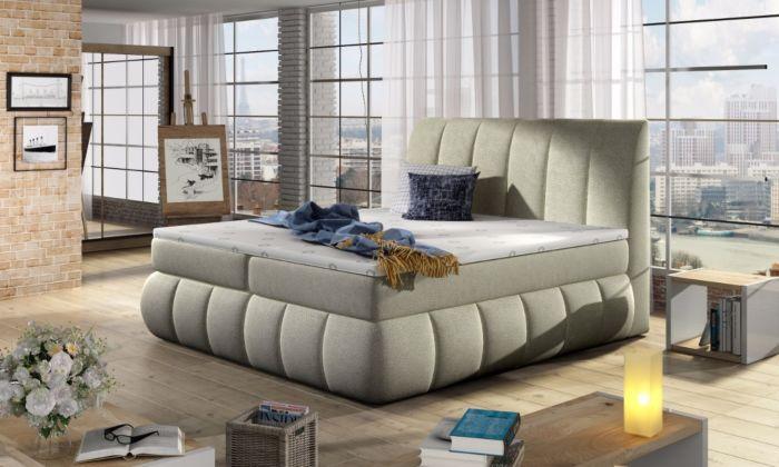 Vineta 13 - 160/180x200  oblazinjena postelja
