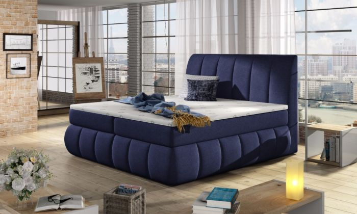 Vineta 18 - 160/180x200  oblazinjena postelja