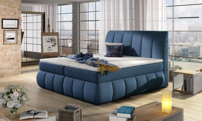 Vineta 24 - 160/180x200  oblazinjena postelja
