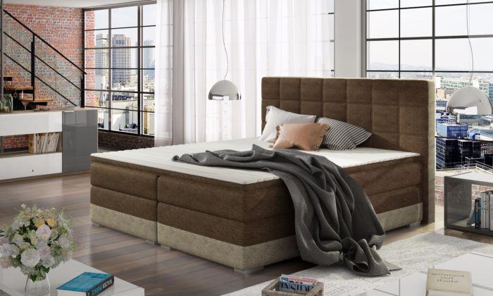Oblazinjena postelja 160/180x200cm Damiana-10