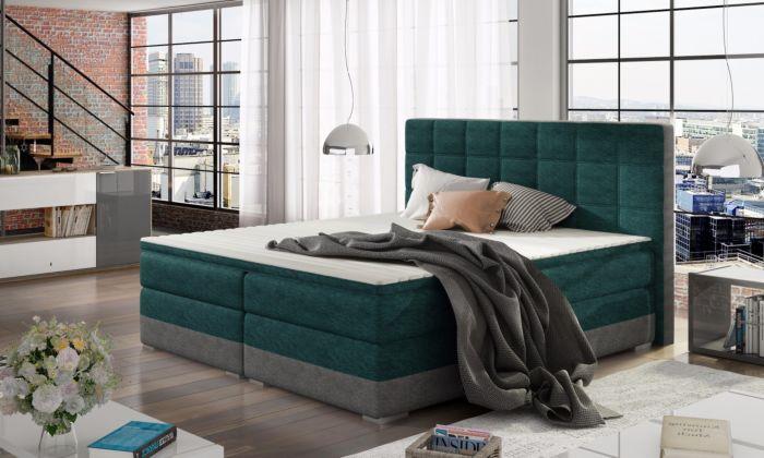 Oblazinjena postelja 160/180x200cm Damiana-11