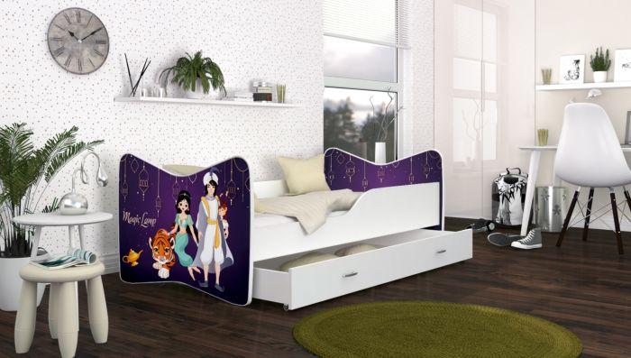 Otroška postelja LOKI 140x70, 160/180 x 80cm