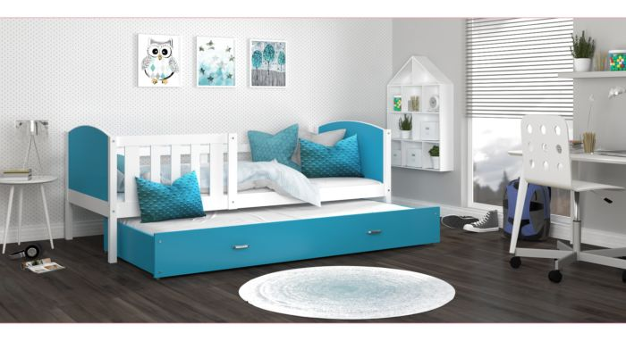 Otroška postelja z dodatnim ležiščem TANJA 2- 190x80 ali 200x90 cm