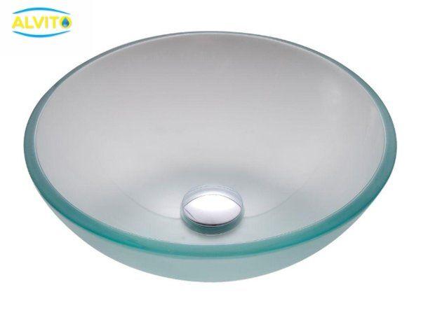 Kopalniški umivalnik Alvito Steklo Color
