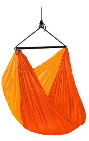 Potovalni viseči stol Zun - oranžen