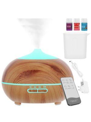 Vlažilnik za aromaterapijo z ionizatorjem Aromatic 300 ml