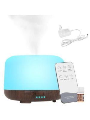 Večfuncijski vlažilnik- difuzor z daljincem + dišeče olje