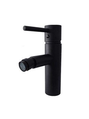 Enoročna kopalniška armatura za bide Alvito HELIA 4545-P BLACK
