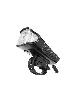 Vodoodporna LED kolesarska svetilka s števcem