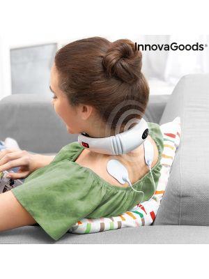 Elektromagnetni aparat za masažo vratu in hrbta