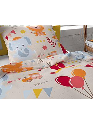 Bombažna otroška posteljnina Lion Circus