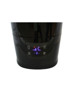 Ultrazvočni vlažilnik zraka za aromaterapijo 6,5 L, črn