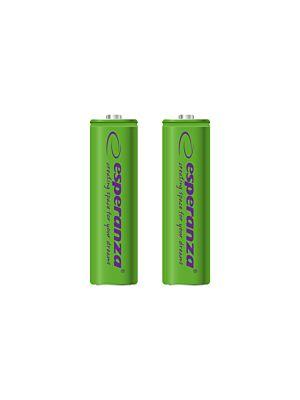 Polnilne baterije Ni-MH AA 2000MAH zelene - 2 kom.