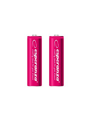 Polnilne baterije Ni-MH AA 2000MAH rdeče - 2 kom.