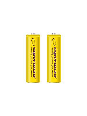 Polnilne baterije Ni-MH AA 2000MAH rumene - 2 kom.