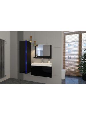 Kopalniško pohištvo BAHAMI  60 - Black Gloss