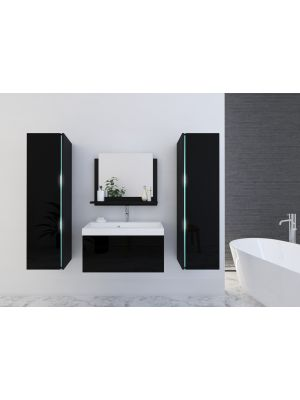 Kopalniško pohištvo BAHAMI II 60 - Black Gloss