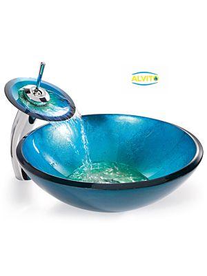 Kopalniški umivalnik Alvito Steklo HC6017