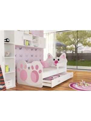 Otroška postelja Mucka 140/160/180/200 x 80cm