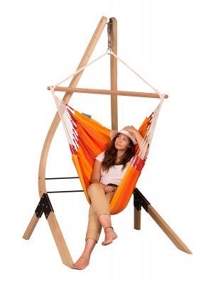 Leseno vodoodporno stojalo za viseči stol Vela - veliko
