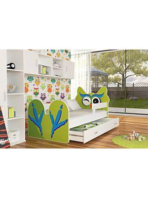 Otroška postelja Sovica 140/160/180/200 x 80cm