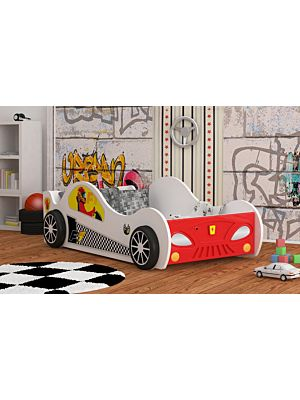 Otroška postelja Dirkač z lučmi 180x90, 160x80 cm