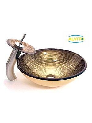 Kopalniški umivalnik Alvito Steklo HC6019