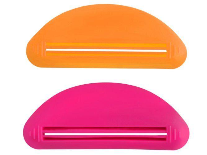 Stiskalec za tube/zobno pasto - 2 kosa