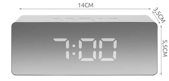 Alarm MAXY 4in1 MIRROR WHITE