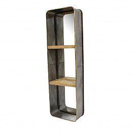 Ogledalo s polico Metal 2