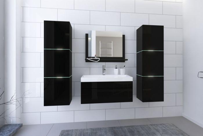 Kopalniško pohištvo MALORKA II 80 - Black Gloss