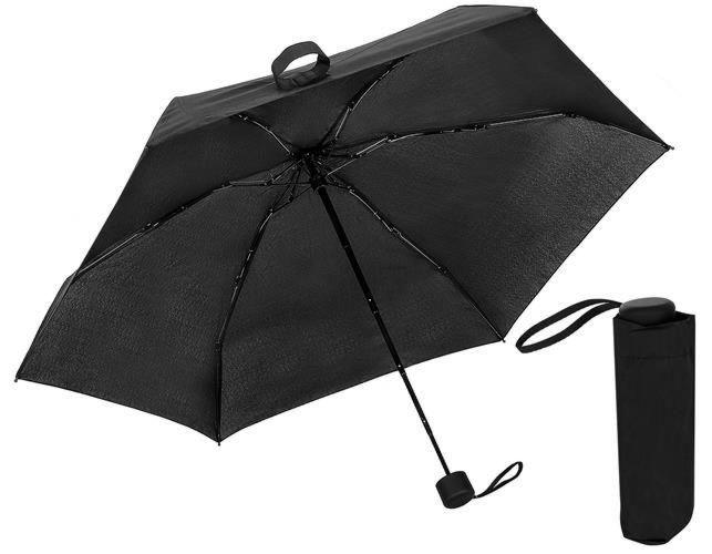 Mini zložljiv dežnik MX - črn